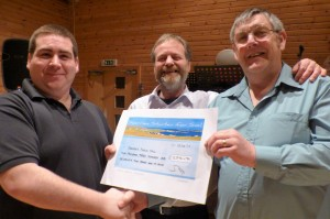 Skerries Public Hall receives a cheque